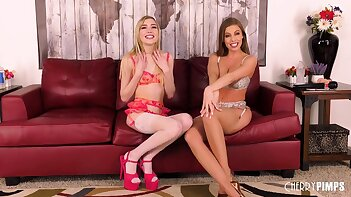 Amazing Lesbian Sex With Britney Amber and Mackenzie Moss