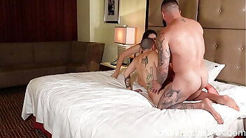 Lucky Guy Fucks Hot PAWG Lesbians in Threesome